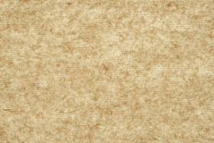 Old sepia striped kraft paper texture Stock Images