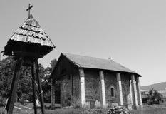 Old Serbian Orthodox Church. One old Serbian Orthodox Church royalty free stock photo