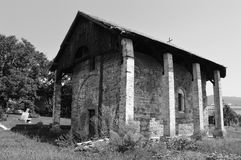 Old Serbian Orthodox Church. One old Serbian Orthodox Church stock photos