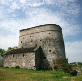Old serf tower. In Kamyanets-Podolsky Ukraine Stock Photo
