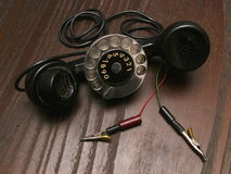 Old service phone.  Royalty Free Stock Photos