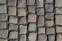 Old sett paving Stock Photos