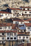 Old settlement in Anatolia. Houses in an old village, near Ankara, Turkey Royalty Free Stock Images