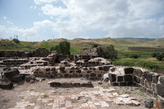 Old settlement ruins Royalty Free Stock Photo