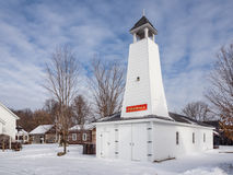 Old Settlers Villiage Fire Hall. Bobcaygeon Ontariorn Stock Image