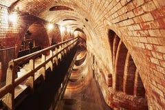 Old sewage treatment plant Royalty Free Stock Photos