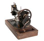 Old sewing machine Royalty Free Stock Photos
