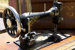Old sewing machine Stock Image