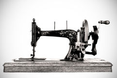 The old sewing machine Stock Photo