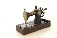 Old sewing machine Stock Photos