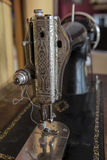 Old sewing machine Royalty Free Stock Images