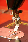 Old sewing machine needle Stock Images