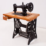 The old sewing machine Royalty Free Stock Photo