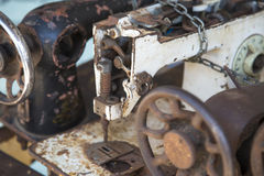 Old sewing machines Stock Photography