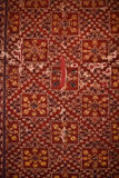 Old shabby carpet Royalty Free Stock Images