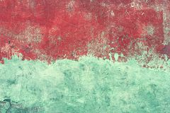 Abstract grunge background of old shabby painted concrete wall Stock Image