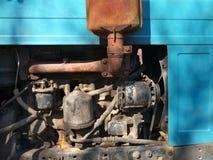 Old shabby engine Royalty Free Stock Photo
