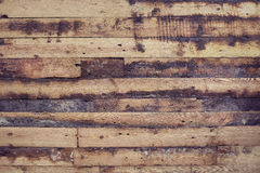 Old and shabby floor. Wooden planks texture Stock Image