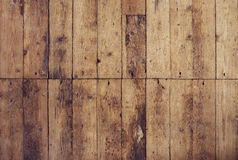 Old and shabby floor. Wooden planks texture Stock Images