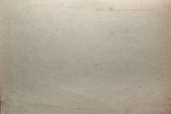 Old shabby grungy dirty sheet of paper texture Royalty Free Stock Images