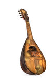 Old shabby mandolin royalty free stock image