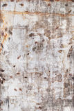 Old Shabby Metal Texture with spots Stock Photography