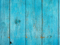 Old shabby painted fence Royalty Free Stock Image