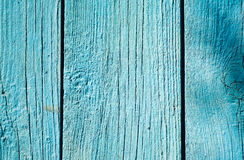 Old shabby painted fence. Rural abstract backgrounds Royalty Free Stock Photography