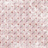 Old shabby seamless flower pattern wallpaper Stock Photo