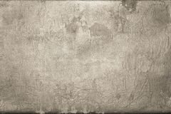 Old shabby skin of beige color with gloss Royalty Free Stock Photos