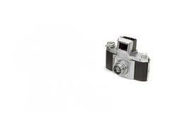 Old Shabby SLR 35mm Photo Camera Isolated Stock Image