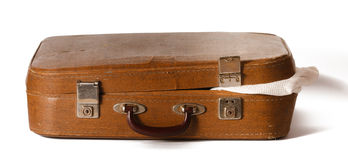 Old shabby suitcase Royalty Free Stock Image