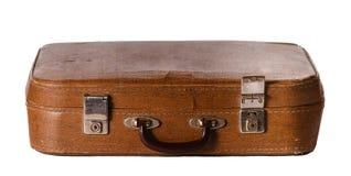 Old shabby suitcase Stock Photos
