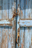 Old Shabby Unpainted Door royalty free stock image