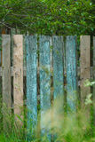 Old shabby wooden fence Royalty Free Stock Photos