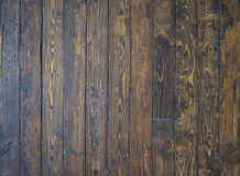 Old and shabby wooden floor background Stock Image