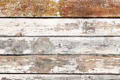 Old shabby wooden planking Stock Photo