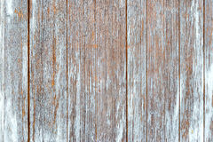 Old Shabby Wooden Planks with cracked color Paint Stock Photo