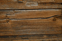 Old Shabby Wooden Planks with cracked color Paint, background Stock Photography