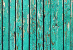 Old shabby wooden planks with cracked paint Royalty Free Stock Photography
