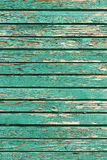 Old shabby wooden planks with cracked paint, retro wood background Royalty Free Stock Photo