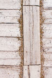 Old Shabby Wooden Planks or wooden old texture as a retro patter Stock Images