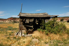 Old shack. In a southern Utah ghost town stock photos
