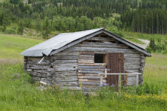 Old Shack in the Mountain Royalty Free Stock Image