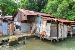 Free Old Shack Slum House Near Malacca River Royalty Free Stock Photos - 118458658