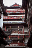 Old Shanghai Buildings Red Roofs China Stock Photo