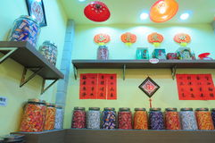 Old Shanghai candy store Stock Image