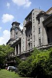 The old Shanghai Museum of art Royalty Free Stock Photography