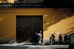 Old Shanghai street Royalty Free Stock Images