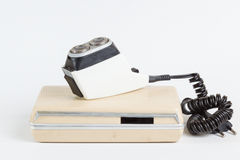 Old shaving razor Stock Images